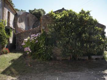 Li StradiLocalitài Monti Majori - Cumunu di LurisiStazzu Monti Majori. Particulari di la casa 'ecchja accustata a la conca. Suttu a la nespula li stradi, pusatogghj in granittu