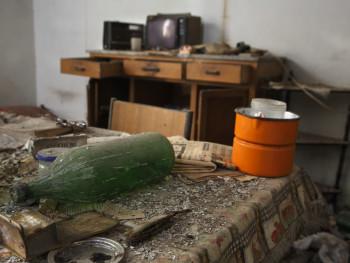Televisori a candeliLocalitài Sa Mesana - Cumunu d'Oscari La cucina di lu stazzu abbandunatu e…  assacchiatu