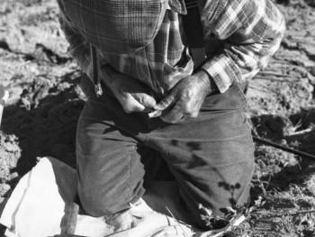 Cant'è bassa la tarra Localitài Caciolu - Cumunu di lu Palau  Attindì a la ignaredda cun trabaddi tradiziunali. Innistà