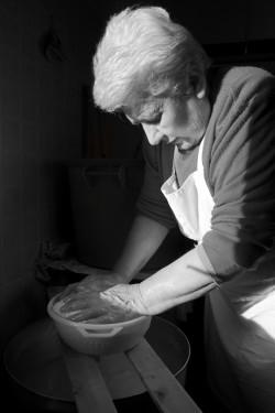 Lu Soli d'Agostina #2 Località Muntagna, Stazzu Sagana, casa nuova - Comune di Tempio Pausania  Facendo il formaggio