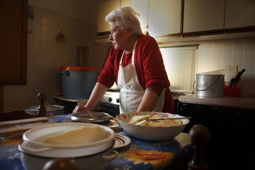 Stazzu Sagana. LocalitàMuntagna, Stazzu Sagana, casa nuovaFacendo il formaggio #1. Agostina Maiorca