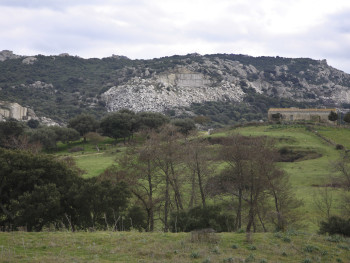 Cave   Località San Leonardo - Comune di Calangianus  Stazzo circondato da cave di Granito